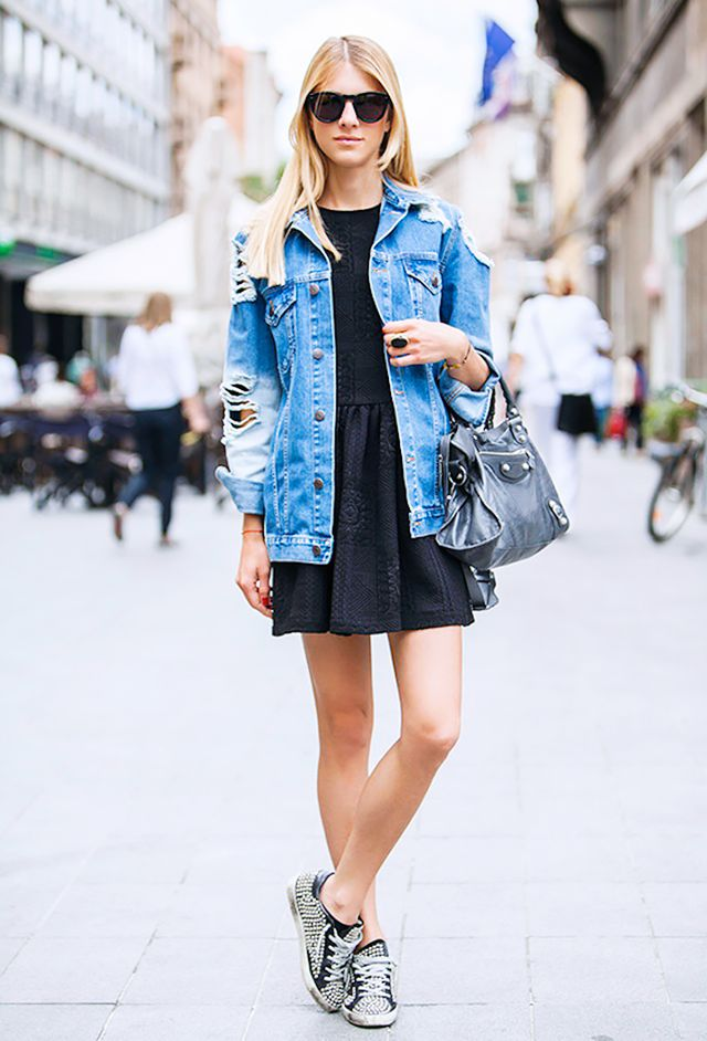 7 Ways to Style Your Denim Jacket This Spring | WhoWhatWear