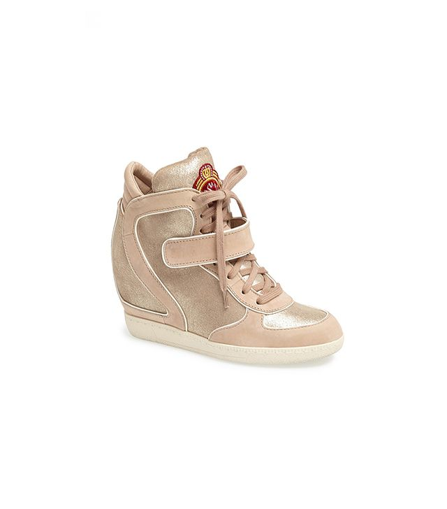 Brendy Glitter Wedge Sneakers
