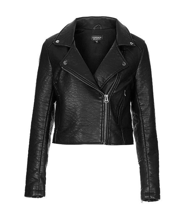 Ultimate Faux Leather Biker Jacket