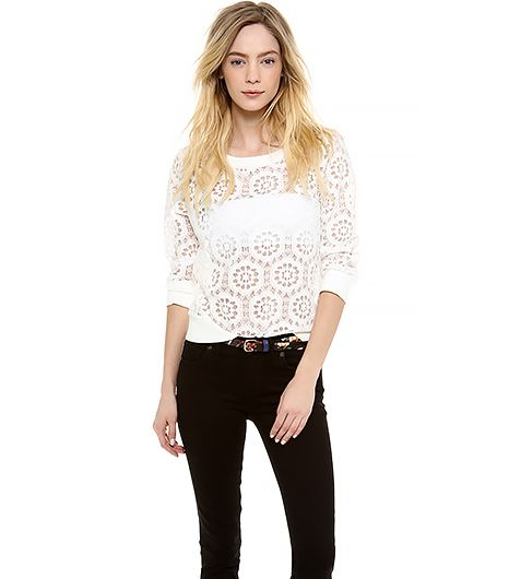 This ultimate festival top is light enough to wear while it's hot during the day, but will also keep you warm through the night.