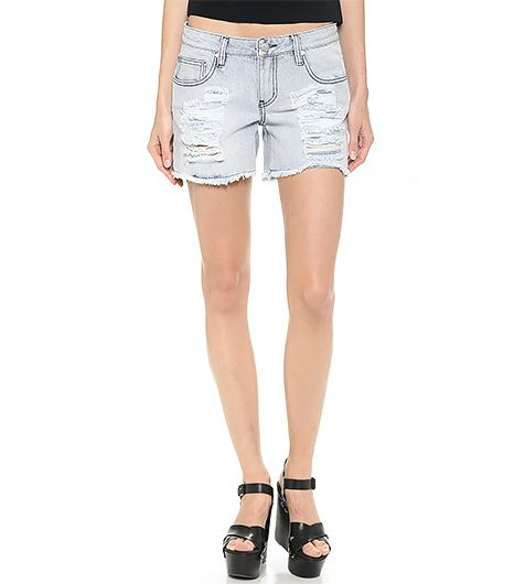 Looking for perfectly faded, destroyed denim shorts? Click here!  MINKPINK Tomboy Shorts ($80)