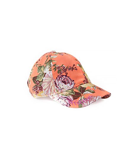 A baseball hat is a tried and true classic, and the floral pattern on this one gives it a fashion-girl twist.  Forever 21 Floral Baseball Cap ($9) in Orange/Multi