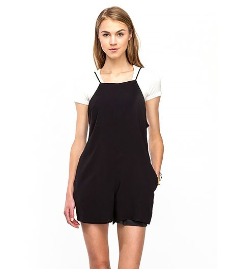 Calling Alexa Chung fans: the Brit It-girl would totally wear this minimalist romper.