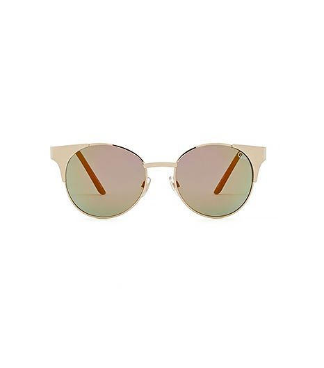 If you have to ask why a mirrored lens is a good idea at Coachella, then you clearly haven't been before.  Quay Asha Shades ($40)