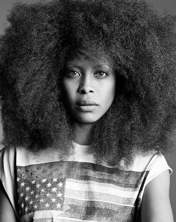 Erykah Badu Decked Out In Givenchy For Purple Magazine