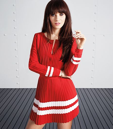 Zooey Deschanel and Tommy Hilfiger Team Up, Adorable Outfits Ensue