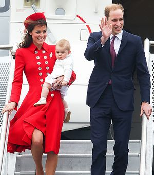 Kate Middleton Debuts Royal Makeover, Accessorizes With Prince George
