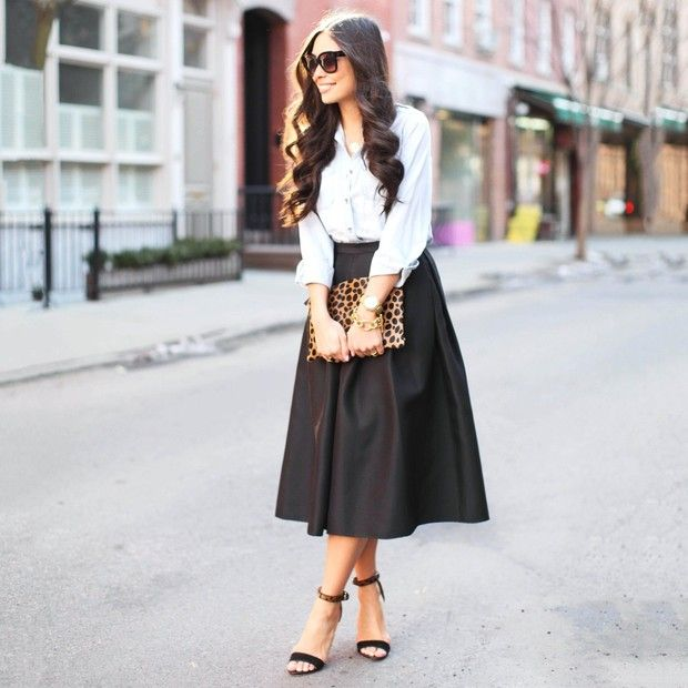 Kattanita is wearing: Tibi skirt.