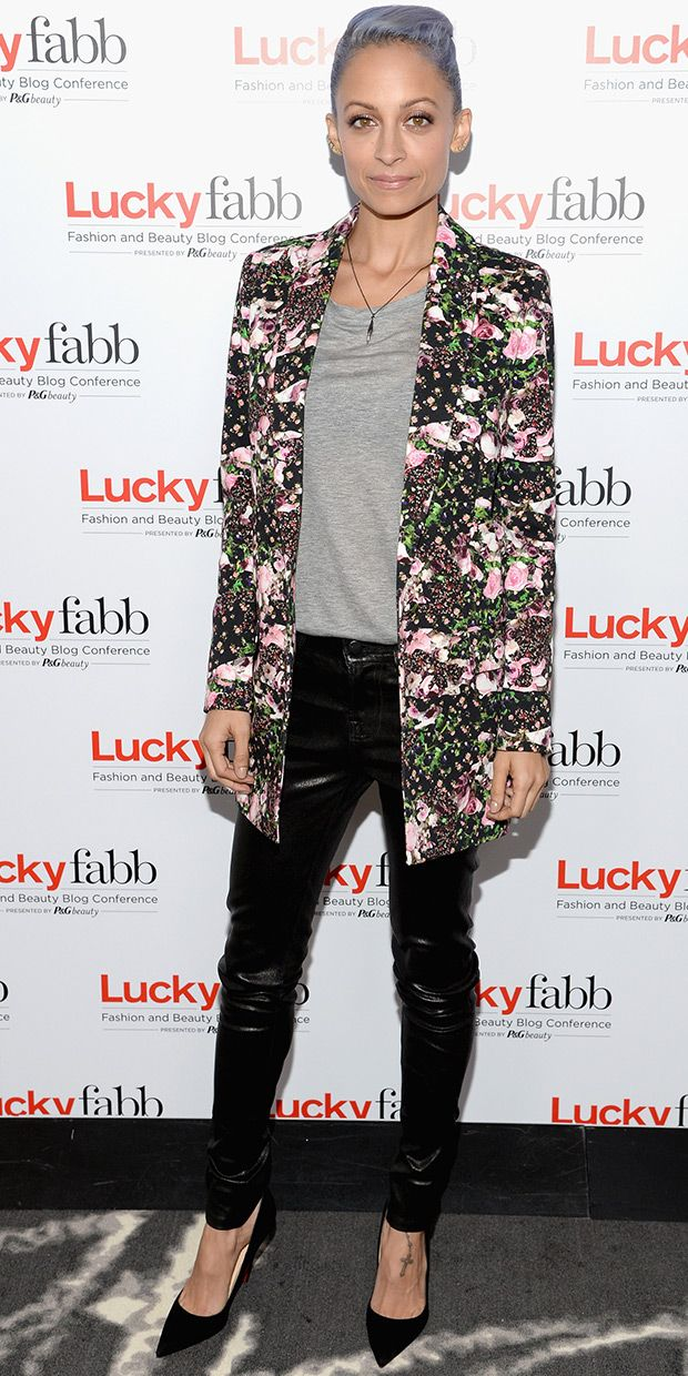 Get Nicole Richie's Bold Blazer Look For Less