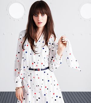 Get Your Prep On With Zooey Deschanel's Tommy Hilfiger Collection