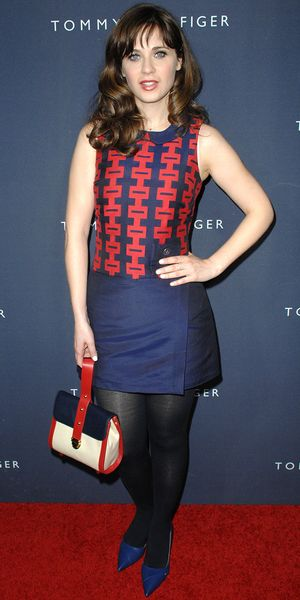 Zooey Deschanel Debuts Her New Collection For Tommy Hilfiger
