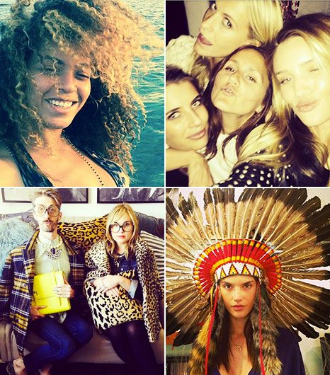 20 Must-See Celeb Instagrams Plus Beyonce's Crazy Hair Day