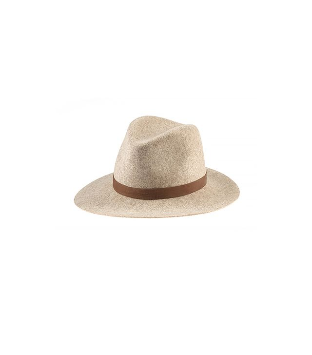 Janessa Leone Julia Hat ($165)  Invest in this model-off-duty staple—you'll never look back.
