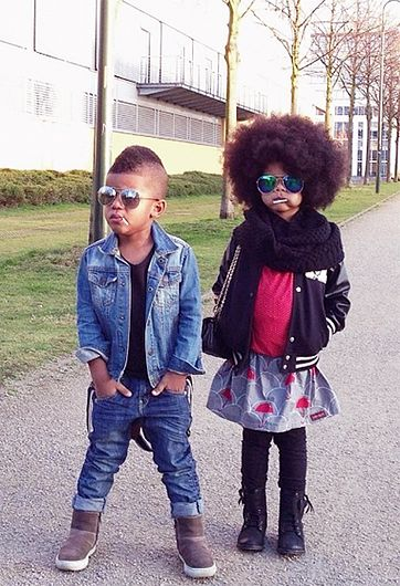 DN: Crazy in love…with these looks.