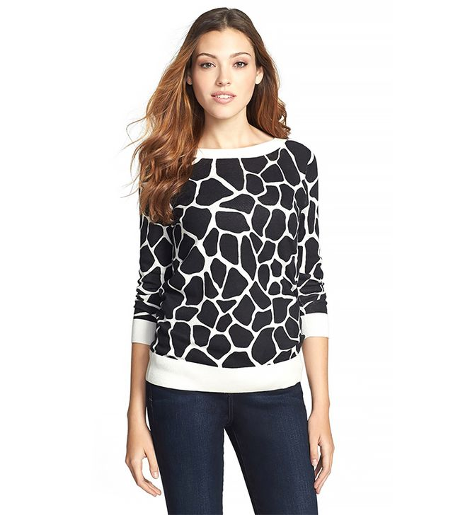 Halogen Three Quarter Sleeve Sweater ($59)