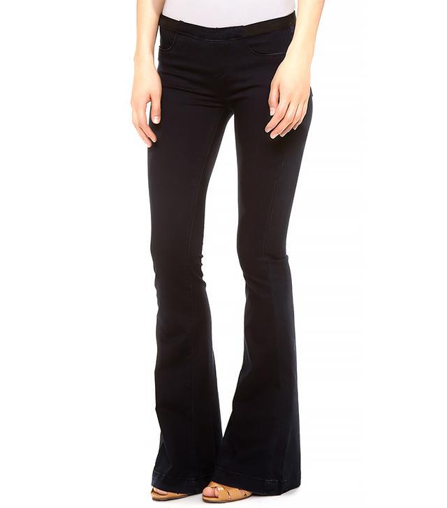 Blank Denim Pull On Flare Jeans ($88)