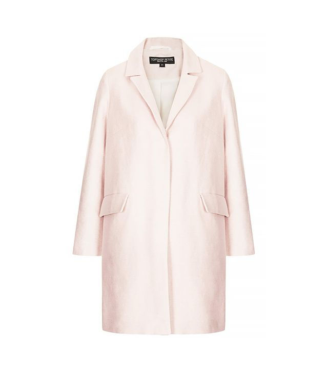 Topshop Textured Swing Coat ($150)