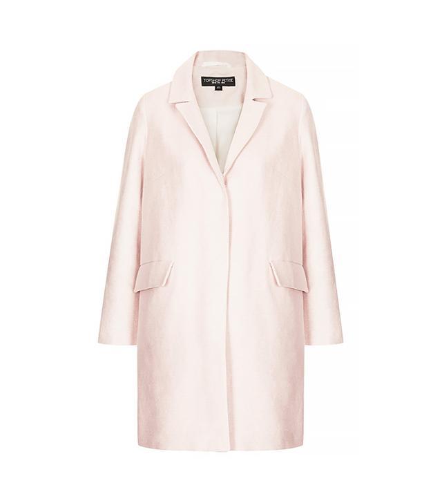 Topshop Textured Swing Coat ($150)