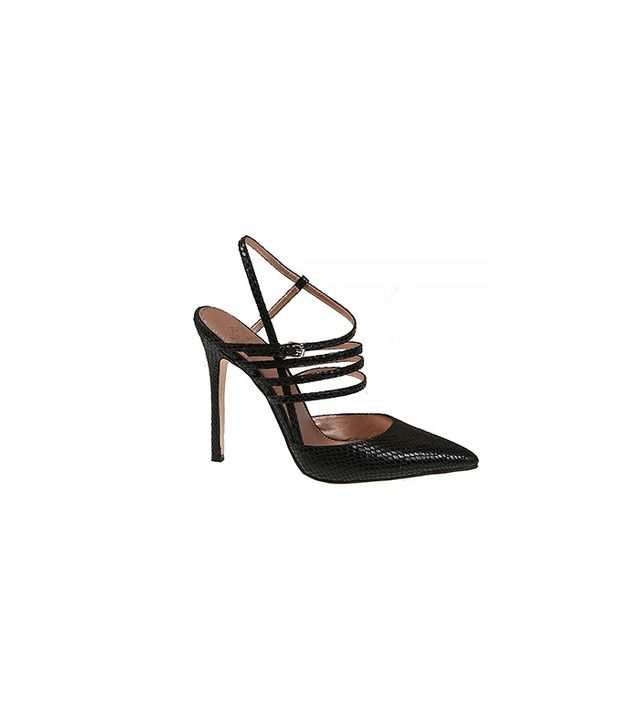 Belle By Badgley Mischka Val Snake Printed Pumps ($89)