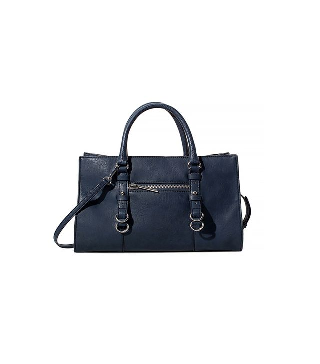 Zara Mini Shopper Bag With Rings ($50)