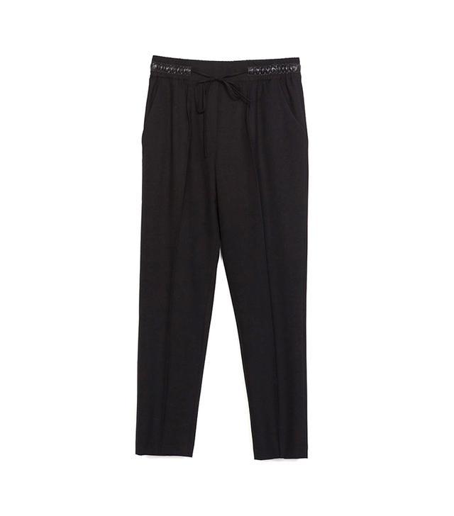 Zara Trousers with Elastic Waistband ($50)