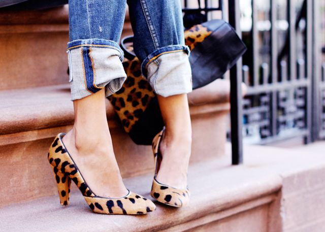 1. Leopard Pumps