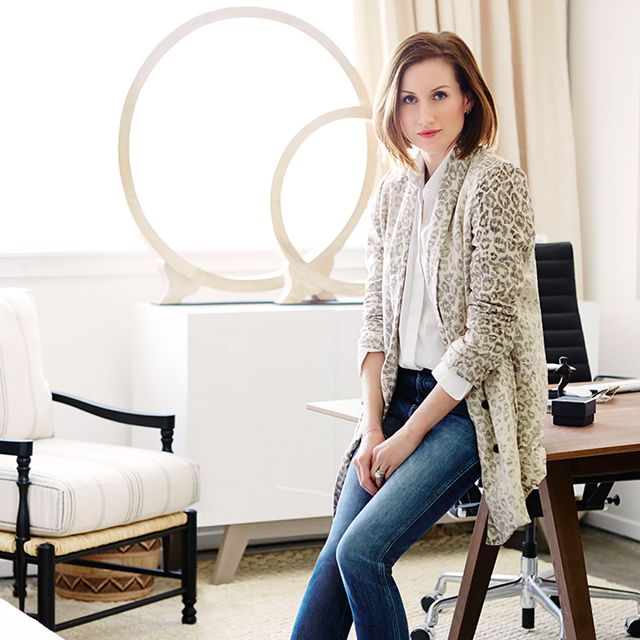 Total Makeover: Inside Katherine Power's Elegant New Office