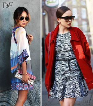 Six Bloggers Take DVF's Spring Looks For A Spin