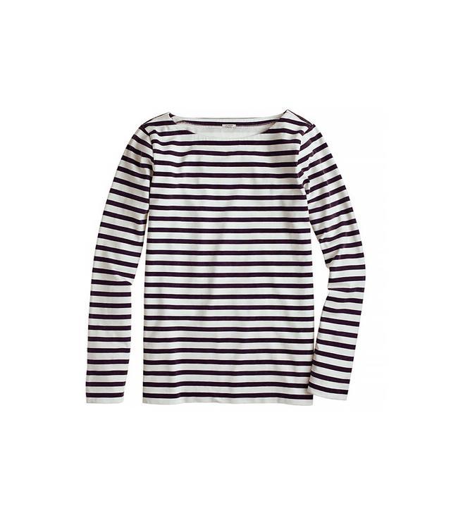 Long-Sleeve Sailor-Stripe Tee