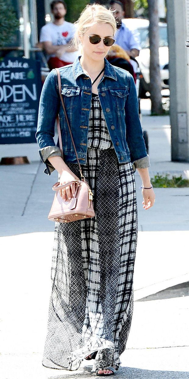 Dianna Agron Inspires Our Spring Weekend Wardrobe