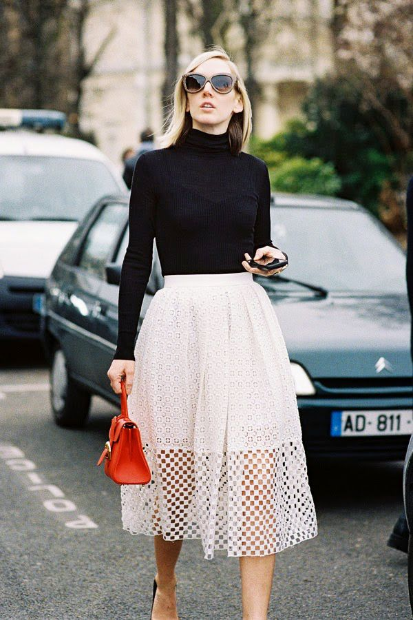 Get The Look: Tibi Sonoran Eyelet Full Skirt ($398)