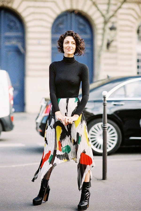Get The Look: Zara Printed Asymmetric Skirt ($70)