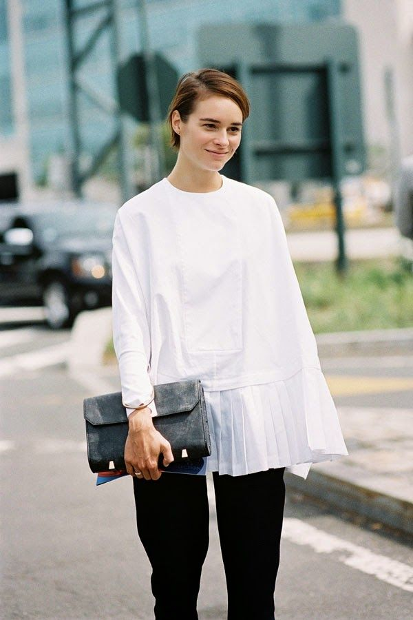 Get The Look: ASOS Oversized Smock T-Shirt ($31)