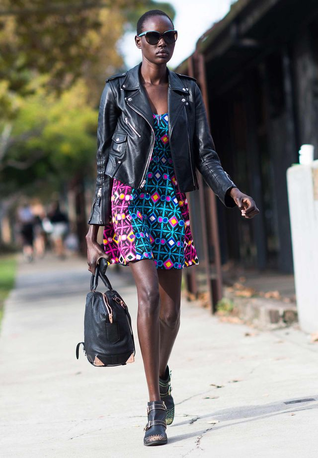 Tip of the Day: Printed Dress