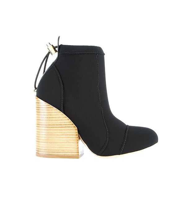 Chloé Neoprene Boots ($970)  The chicest pair of scuba-inspired shoes we've ever seen!