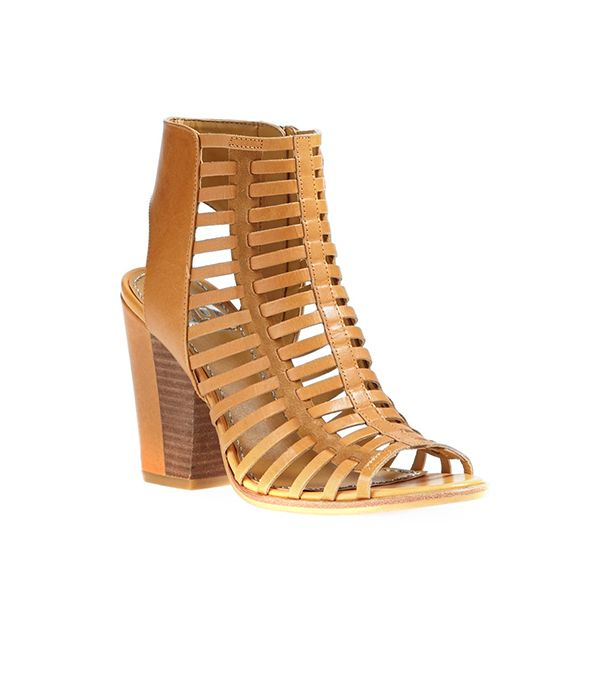 DV by Dolce Vita Caged Sandal($119) in Tan Leather  These beauties are also available in light tan and black.