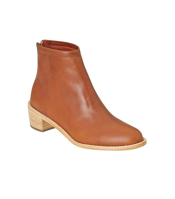 Loeffler Randall Felix Boots ($395) in Cognac Aviator Calf