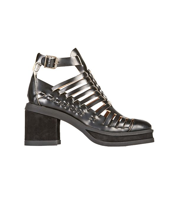 Purified Patricia Woven Leather Ankle Boots ($690)  Woven leather boots are the way to go this season.