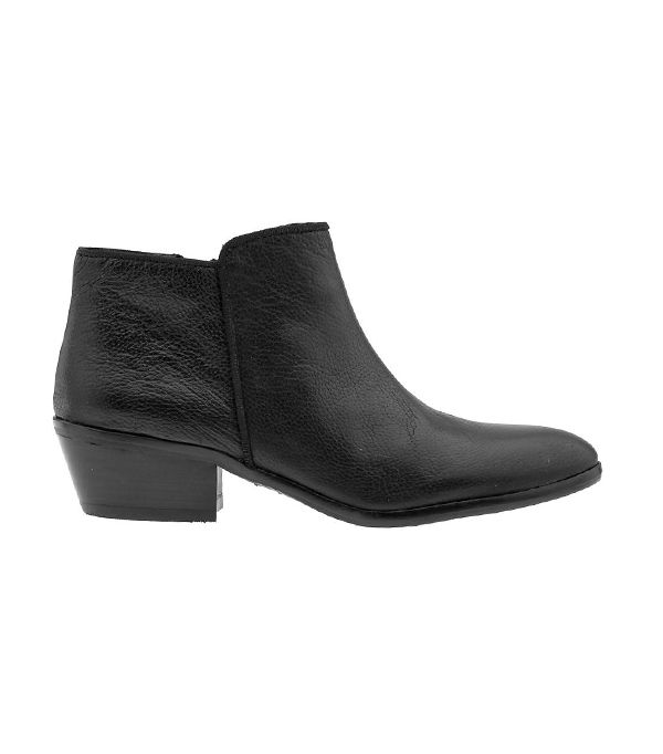 Sam Edelman Petty Boots ($130) in Black Leather