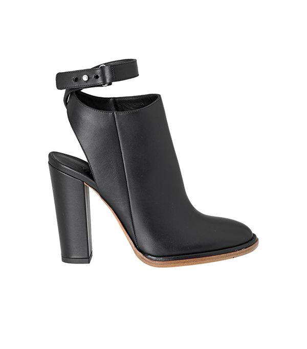 Vince Joanna Boots ($315) in Black  These would look perfect with a girly floral dress and sleek moto jacket.
