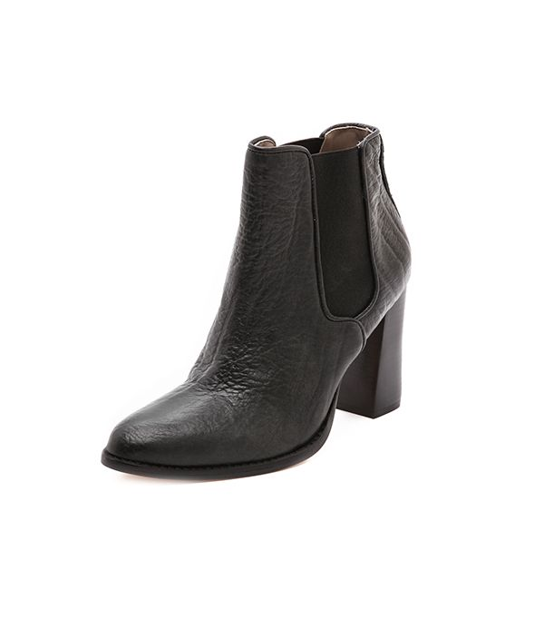 Zimmermann Ankle Booties ($495) in Black  The classic black boot every girl should own.