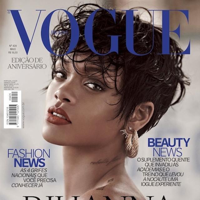 Rihanna's Sexy Vogue Brazil Spread