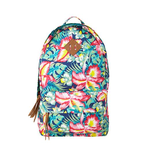 Forever 21 Island Girl Canvas Backpack ($25)