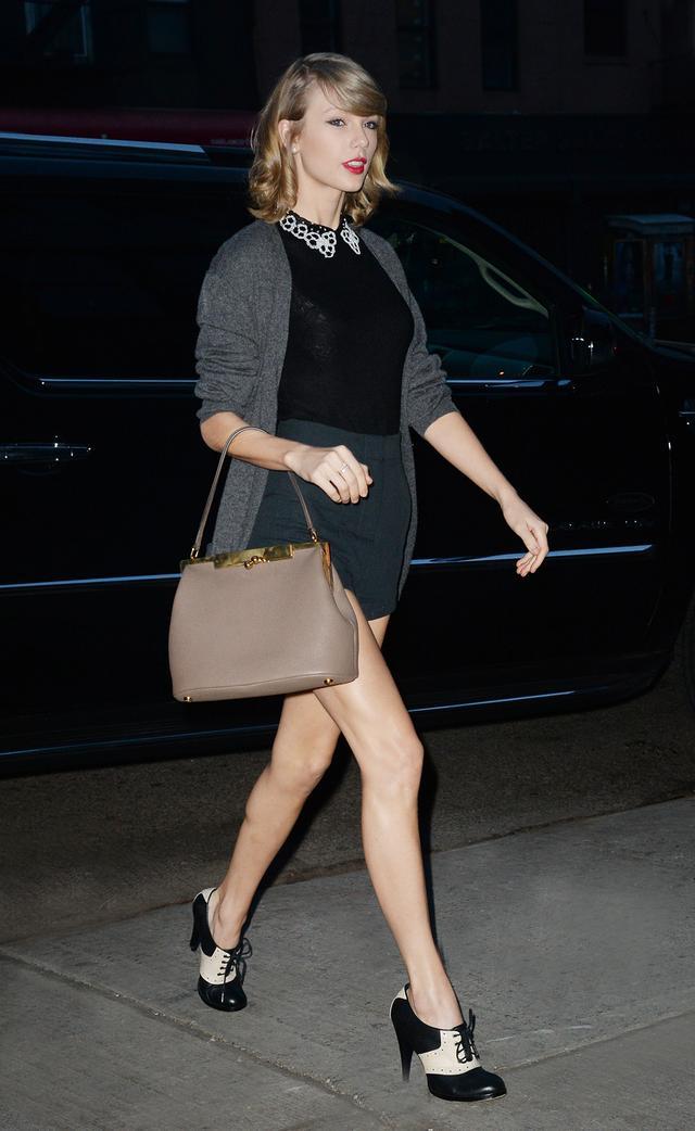 Day 3: Embellished Collared Shirt + Ladylike Bag + Lace-up Heels