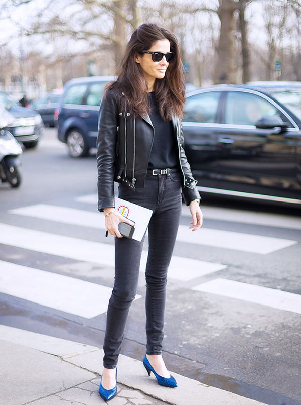 Trick 1: Wear An All-Black Body-Con Ensemble