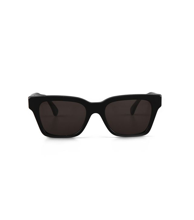 Super Sunglasses America Sunglasses ($189) in Black