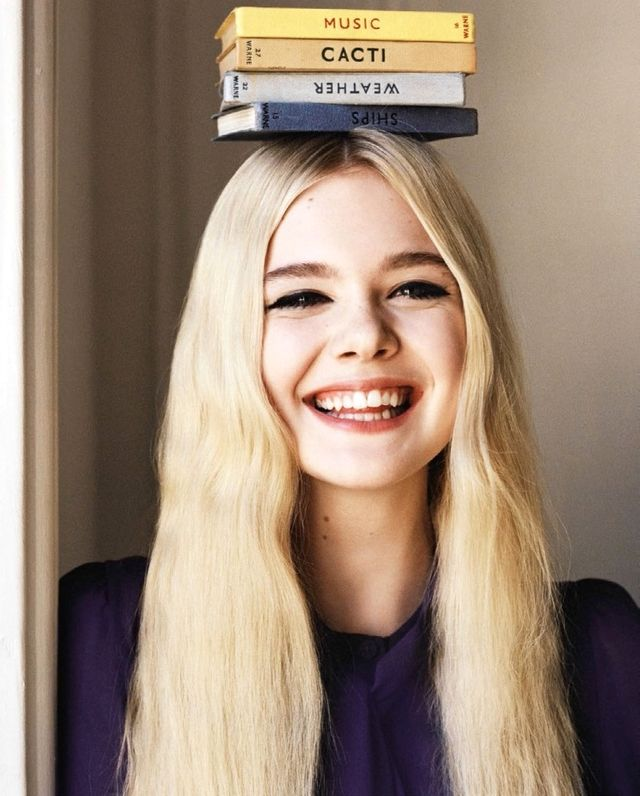 Elle Fanning's Adorable Cover Shoot For Vogue UK