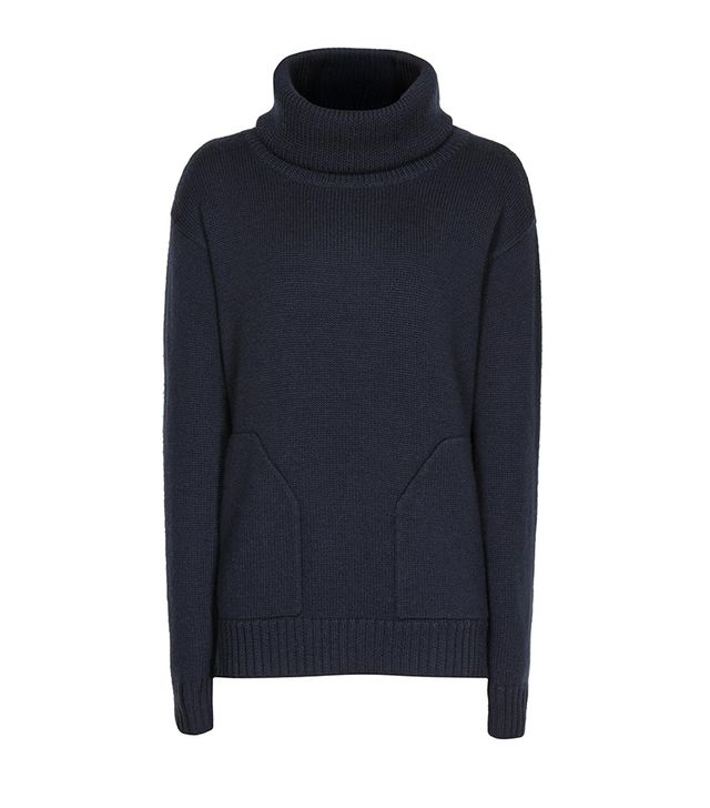 Reiss Delo Roll Neck Jumper ($230) in Navy