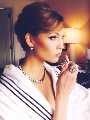 Exclusive: Getting Ready with Karlie Kloss For The Met Gala
