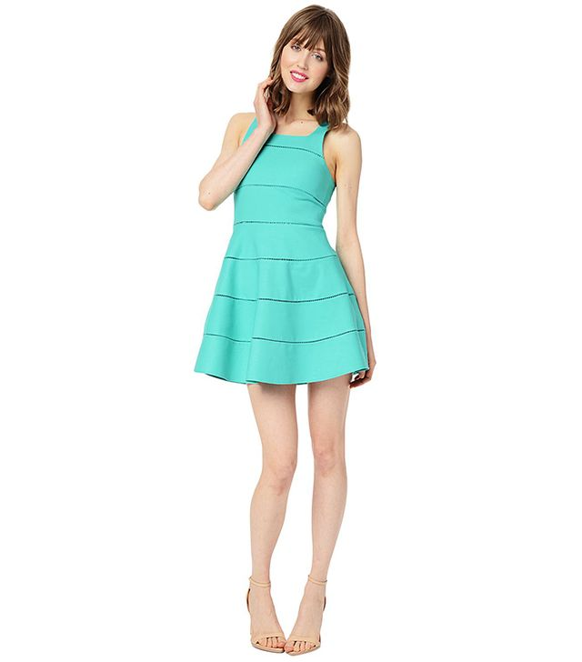 The flirty dress you won't regret buying.  Parker NY Alicia Dress ($286) in Bermuda